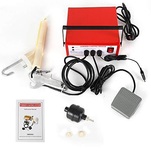 OUKANING 3.3W 0.03A Rot Pulverbeschichtungsgerät Pc03-2 Pulverpistole Pulverbeschichtung System 220V
