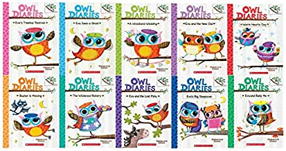Owl Diaries Series 10 book Set