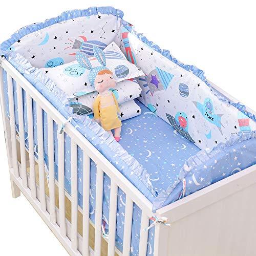 Parure de lit en coton, lit berceau, literie pour bébé, literie pour bébé, ensemble de 7/8,120 * 60, huit ensembles