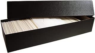 Glassine Envelope Storage Box for #3 Envelopes - Holds Over 1,000 Glassine Envelopes