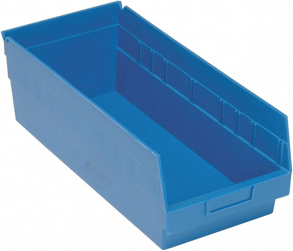 Quantum Storage Online limited Sale item product Shelf Bin Blue 8 inH inL inW 7 3 x 17