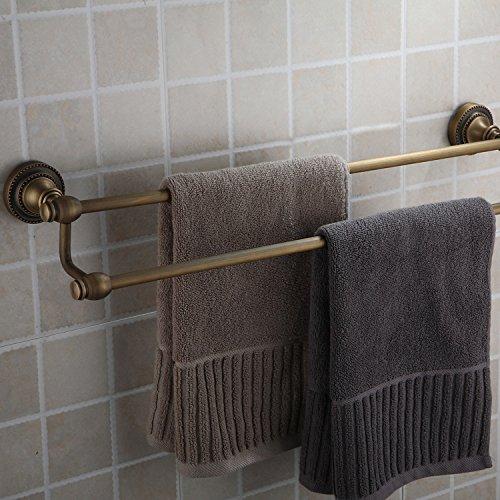 MBYW moderne minimalistische hoge dragende handdoek rek badkamer handdoekenrek Dubbele handdoek rack_sale kwaliteit dubbele handdoek rek 25848b Geschikt voor badkamer, slaapkamer, keuken, kantoor, bar