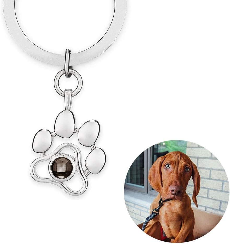 Bella e comoda penna con immagine ed elegante portachiavi Cavalier King Charles Spaniel Dog #12388 rotondo per le chiavi