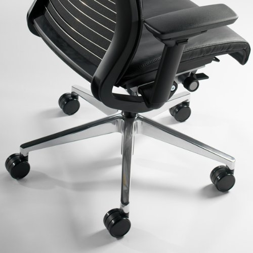 Steelcase Think Chair, Black Leather