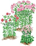 Gardener's Supply Company Heavy Duty 18' Grow Through Flower and Plant Supports, Set of 3