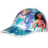 Disney - Gorras de béisbol ajustables para niña (2 a 8 años) Azul Disney Princess - Azul 4 años