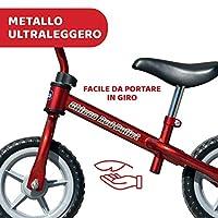 Chicco Red Bullet Bicicletta Bambini Senza Pedali 2-5 Anni, Bici Senza Pedali Balance Bike per l'Equilibrio, con Manubrio e Sellino Regolabili, Max 25 Kg, Rosso, Giochi Bambini 2-5 Anni #6