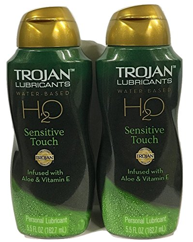 Trojan Lubricants H2O, Sensitive Touch, 5.5 Oz