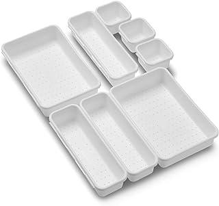 Made Smart 59001 Value 8-Piece Interlocking Bin Pack | VALUE COLLECTION | Customizable Multi-Purpose Storage | Durable | E...