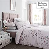 Catherine Lansfield - Juego de Funda nórdica, Blush, Super-King Duvet Set