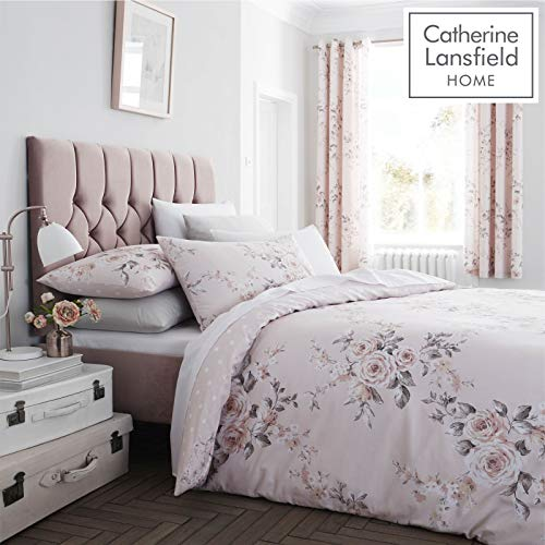 Catherine Lansfield Bettwäsche-Set, Blush, King Size