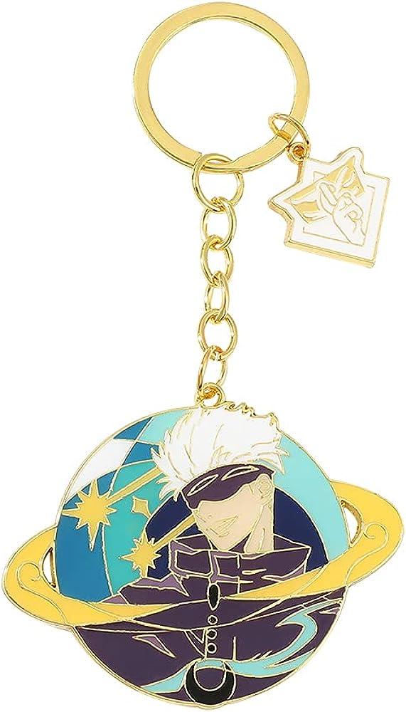 Anime Jujutsu Kaisen Figure Keychains - Jujutsu Kaisen Gojo Satoru Keychain, Anime Cosplay Pendant Keyrings Gifts for Fans