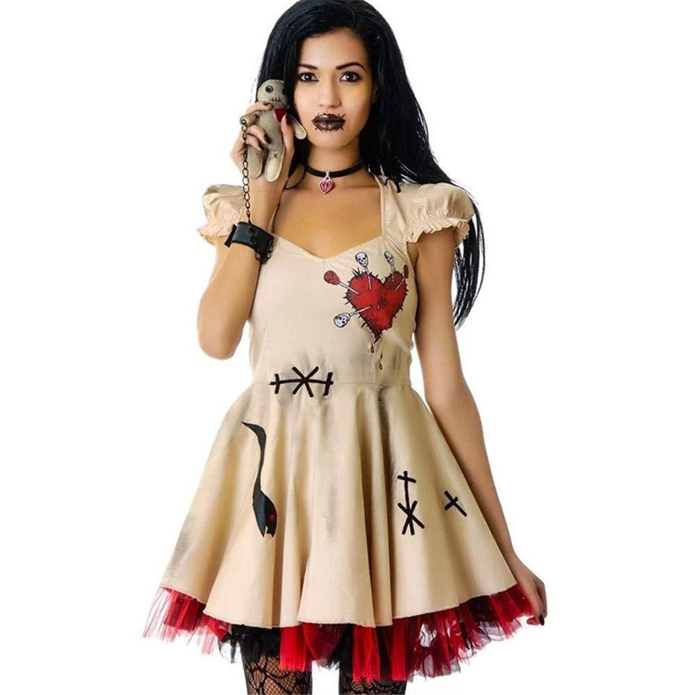 WSJDE Divertido Disfraz de Harley Quinn Disfraz de Mujer Adulto ...
