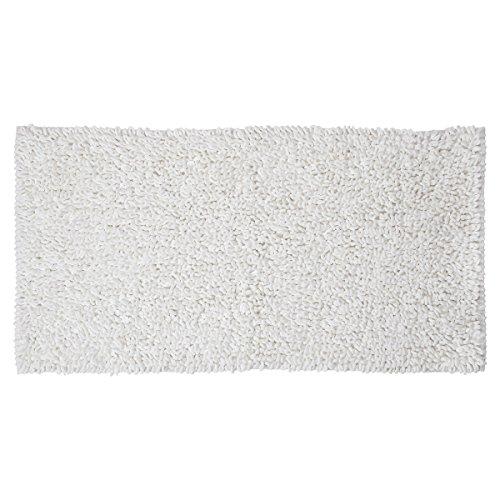 Sealskin Twist, Tapis de Contour, Microfibre, 60 x 120 cm, Blanc