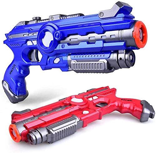 Ainek Infrarot Laser Tag Guns and Vests - Laser Battle Mega Pack Set von 4