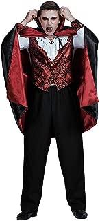 Men's Vampire Halloween Costume Cape Cloak Adult Bloody Bat - Funny Cosplay Party