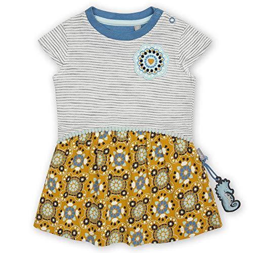 Sigikid Baby-Mädchen Kleid aus Bio-Baumwolle für Kinder Kinderkleid, Mehrfarbig/Muster, 74