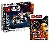 Lego Set – Lego Star Wars Millennium Falcon Microfighter 75295 + Lego Star Wars: juego de rompecabezas para rebeldes valientes (cubierta blanda)