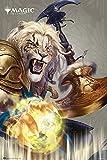 POSTER STOP ONLINE Magic The Gathering - MTG - Gaming Poster (Ajani Goldmane - Planeswalker) (Size 24 x 36')