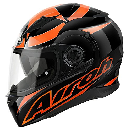 Airoh Motorrad Helm Bewegung, Orange (Shot Orange), 60-L
