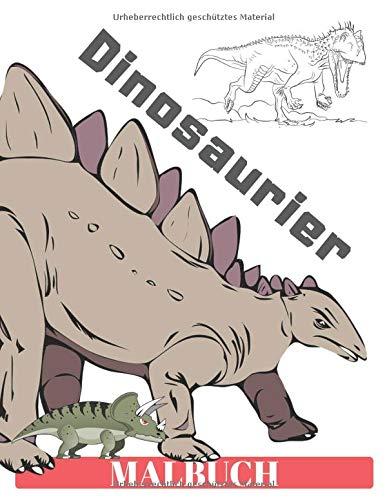 Dinosaurier Malbuch: Geschenk für Kinder