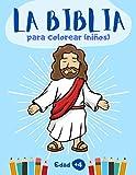 La Biblia para colorear (niños): 40 dibujos de la Biblia para colorear   libro cristiano para niños ...