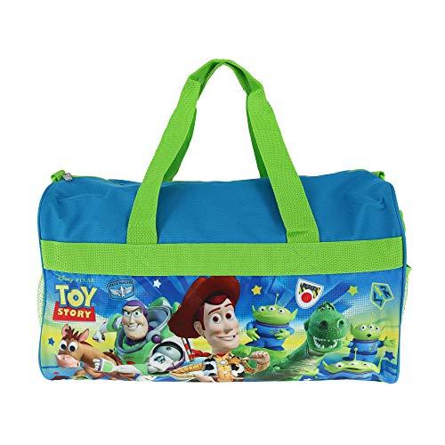 Boys Toy Story 18' Blue/Green Duffel Bag Standard