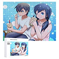 天気の子 500/1000ピース ジグソーパズル 上質な木製パズル の天気の子の色彩の絵はシ少女と少年の出会いは愛し合い、愛し合うまでの美しいラブストーリーです