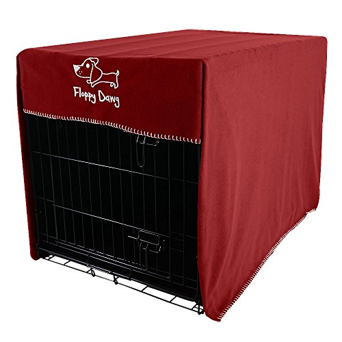 Floppy Dawg Crate Cover. Fits Most Dog Crates. Easy to Put On