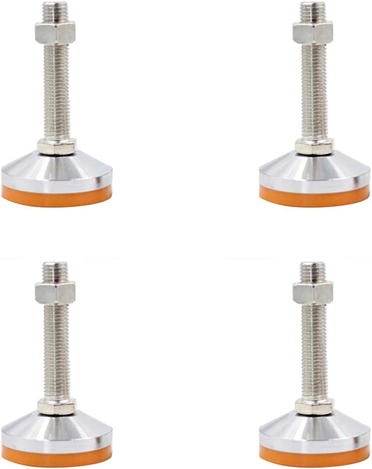 Furniture feet, Adjustable, Steel + PVC Material, Integrated Screw Production Process