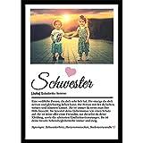 Definition Poster Wunschbild/Name | Schwester Geschenk |