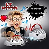 MOIAK Novelty Game Electric Shocking Liar, Upgrade Micro Tricky Game Polygraph Test Truth Or Dare Game for Party, Best Gift for Truth Game Toy