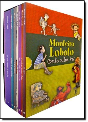 Caixa Monteiro Lobato Conta Outra Vez