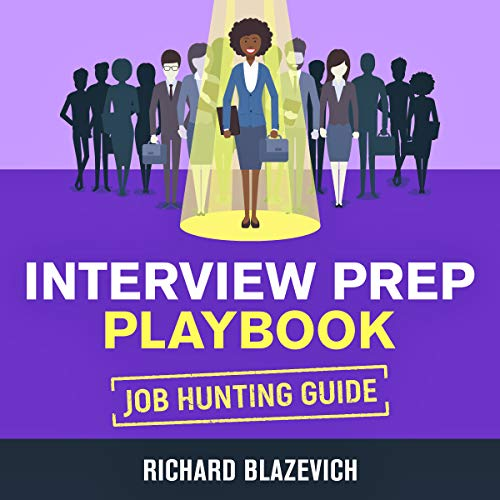 Interview Prep Playbook: Job Hunting Guide audiobook cover art