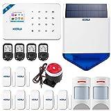W18 WiFi & GSM Système d'alarme sans Fil pour la Maison et Les Entreprises avec détecteur de...