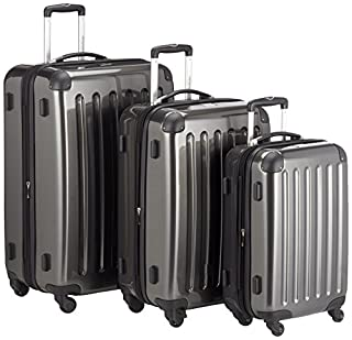 HAUPTSTADTKOFFER - Alex- Set of 3 Hard-side Luggages Trolley Suitces Expandable, (S, M & L), graphite (B00L2D2K84) | Amazon price tracker / tracking, Amazon price history charts, Amazon price watches, Amazon price drop alerts