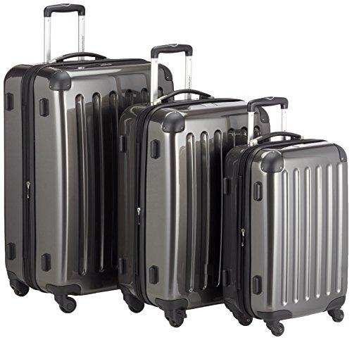 HAUPTSTADTKOFFER - Alex- Set of 3 Hard-side Luggages Trolley Suitces Expandable, (S, M &...