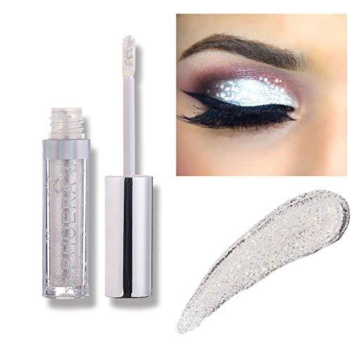Liquid Eyeshadow Makeup Langlebige Shiny Glitter Wasserdicht Schimmer und Glanz Lidschatten-Aufkleber Metallic-Pigmente (A103)