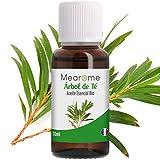 Aceite Esencial de Arbol de Té Puro 30 ml, 100% Natural y Bio | Trata el Acné Piojos Caspa Hongos...