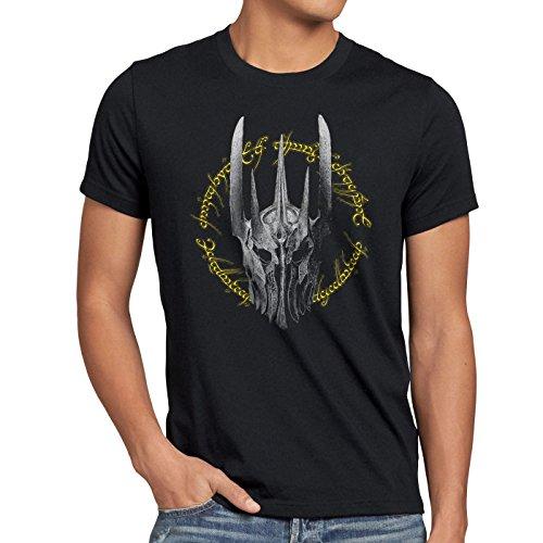 style3 Dunkle Ringe Herren T-Shirt Neuseeland Auenland, Größe:XL