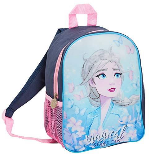 Disney Frozen 2 Backpack Girls Denim Style Bag Kids Elsa School Nursery Rucksack