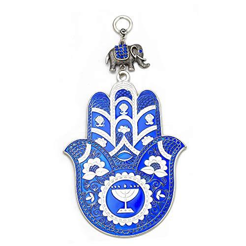 1Pc Türkei Hamsa Hand Charms Anhänger Wandbehang Blue Evil Eye Schmuck Fit Dekoration Home Party Anhänger Schmuck