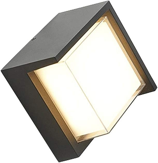 GYZLZZB Modern Wall Lights Outdoor White Waterproof Max 74% Some reservation OFF Alu Warm 6W