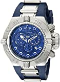 Invicta Men's 1389 Subaqua Noma IV Chronograph Dark Blue Dial Dark Blue Polyurethane Watch