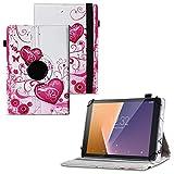 UC-Express Tablet Schutzhülle kompatibel für Vodafone Tab Prime 6/7 Hülle Tasche Universal Cover Hülle aus Kunstleder Standfunktion 360° Drehbar, Farben:Motiv 6