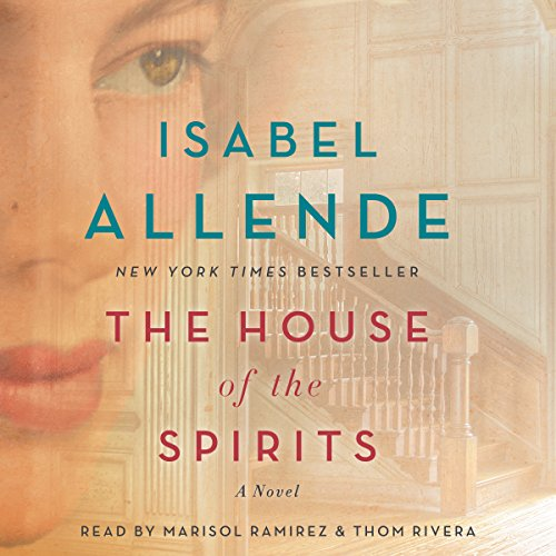 The House of the Spirits audiobook cover art