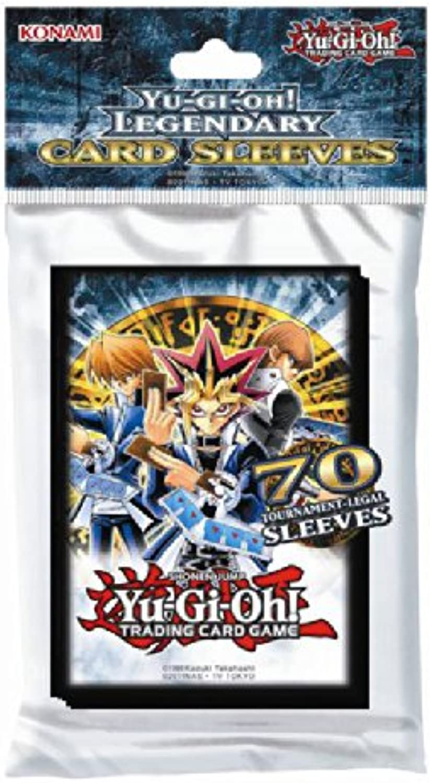 Yu-Gi-Oh  Legendary Card Sleeves - Yugi, Joey, Kaiba (70 sleeves per pack)