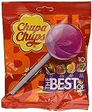 Chupa Chups The Best Of Cola Milky Fruit 10 Lollipop Gusti Assortiti, 120g