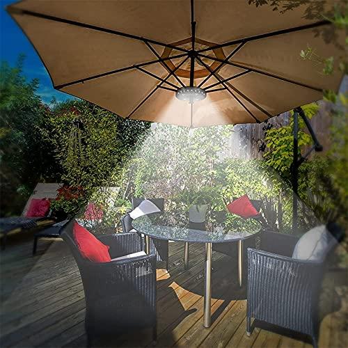 Paraplu paal licht, 2 stks paraplu licht, paraplu paal licht, batterij uitgevoerd, buitenlampje voor patio paraplu, tuin parasol, offset cantilever paraplus, bananen paraplu, romeinse paraplu, markt
