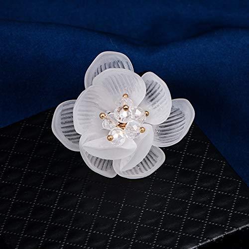 GWTRY Joyería Baiduqiandu encanto de la flor de la broche de la...
